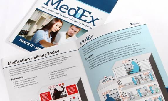 Aethon MedEx Infograph Design