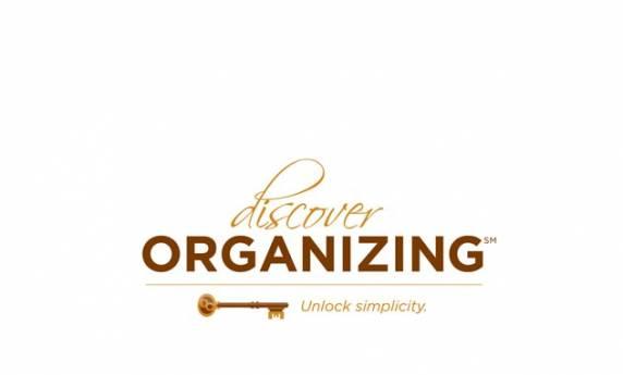 Discover Organizing Logo Design
