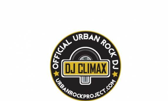 DJ Climax Urban Rock Project Logo Design