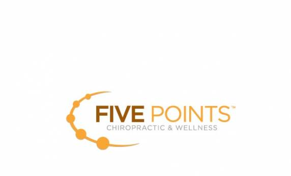 Five Points Chiropractic and Wellness Logo Design