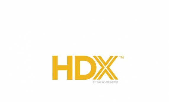 Home Depot HDX Product Line Logo Design