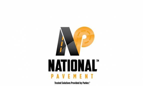 National Pavement Logo Design