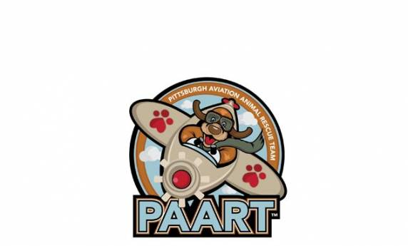 Pittsburgh Animal Aviation Rescue Team Logo Design