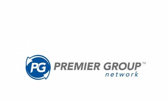Premier Group Network Logo Design