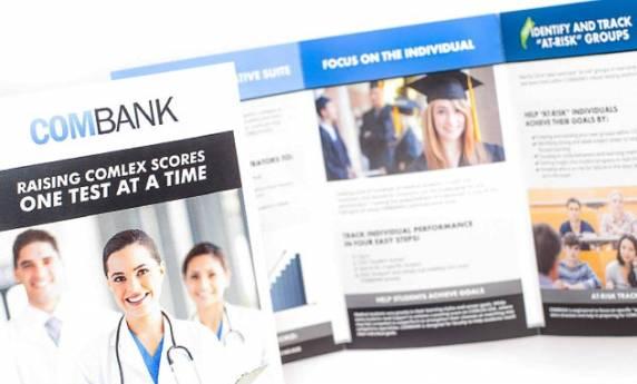 Combank Brochure Print Design