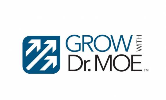Grow with Dr. Moe Logo Design