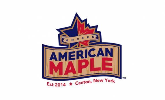 Modern American Maple Logo Design