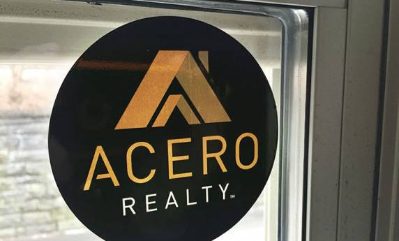 Acero Realty Sticker