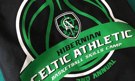 Hibernian Celtic Athletic Tshirt