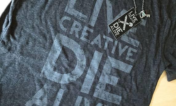 Live Creative Die Alive Tshirt