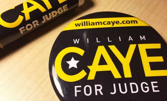 William Caye Judge Promotional