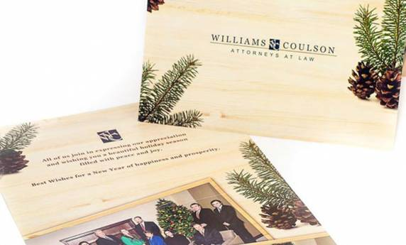 Williams coulson holiday card