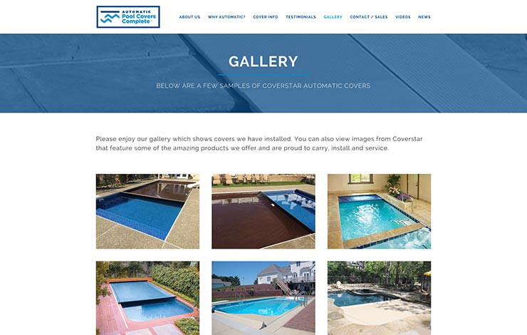 Automatic Pool Covers Complete Gallery Website Design. Automatic Pool Covers Complete Gallery Website Design   ocreations