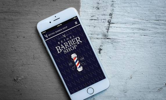 Bethel Barbor Shop Website Design