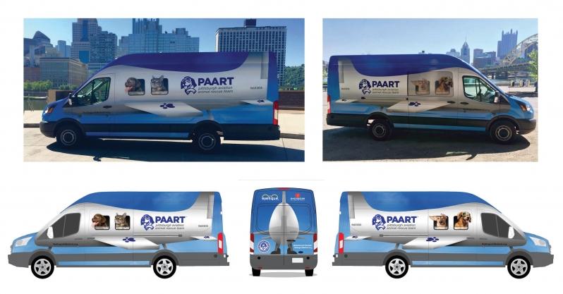 PAART Ground Team Rescue Van
