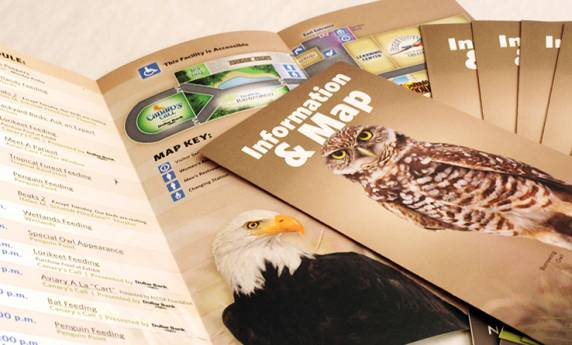 National Aviary Information & Map Brochure