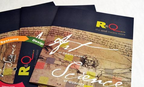 R&Q Marketing Material Print Design