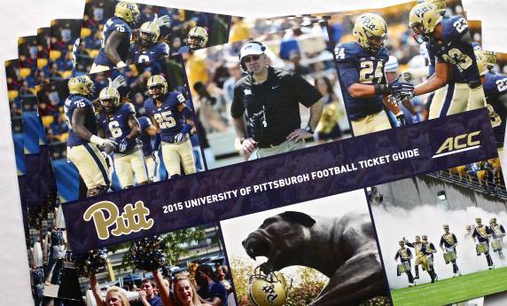 2015 Pitt Football Ticket Guide