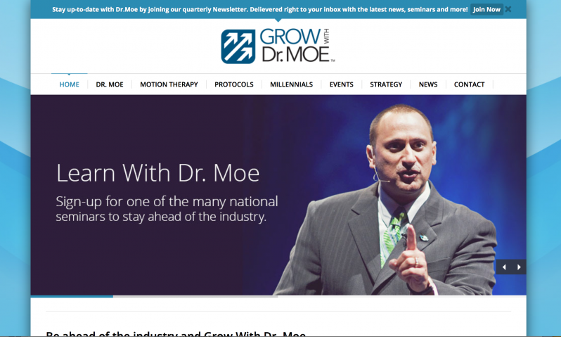 Grow with Dr. Moe Website