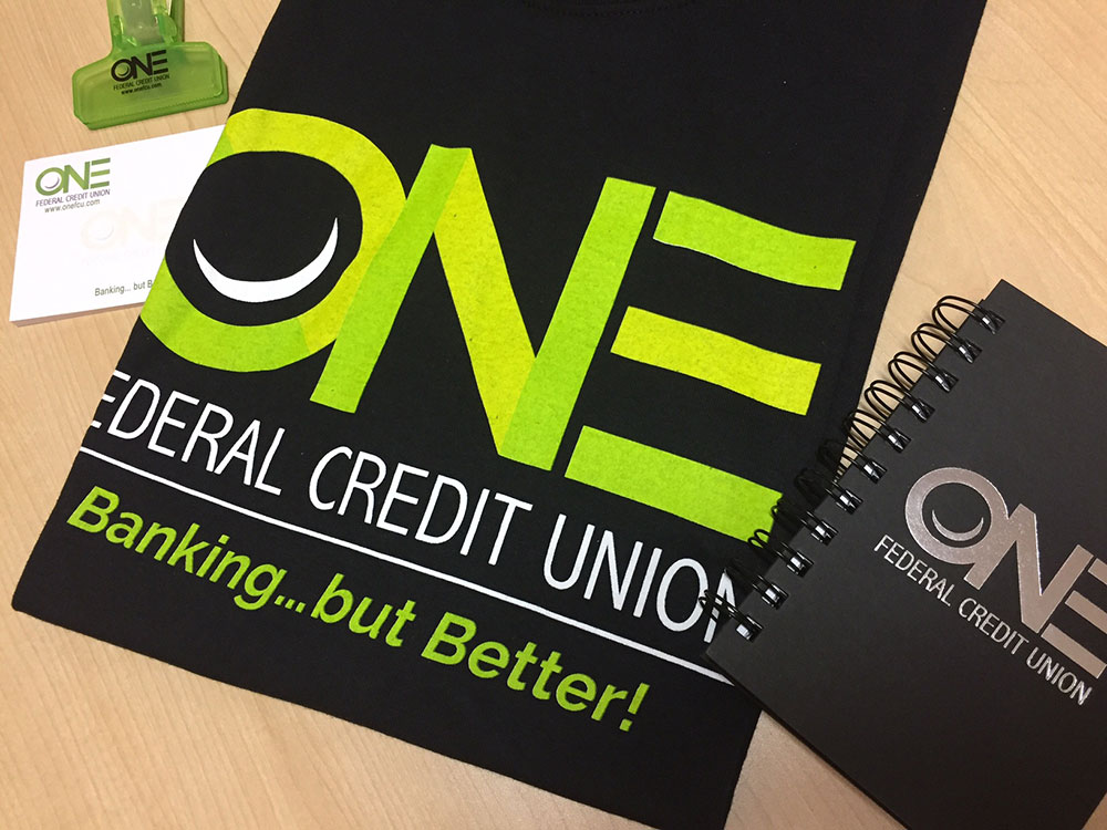 one federal credit union ocreations marketing materials