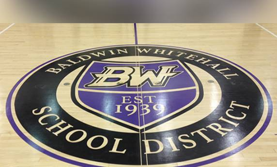 Baldwin Whitehall Gym Floor