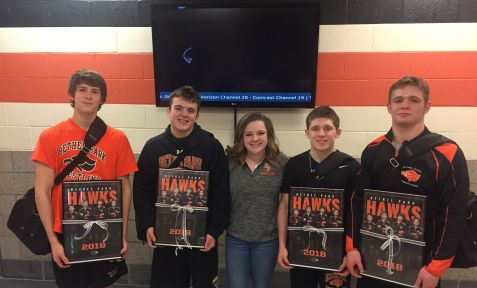 OCREATIONS DONATES DESIGN TO BETHEL PARK WRESTLING TEAM