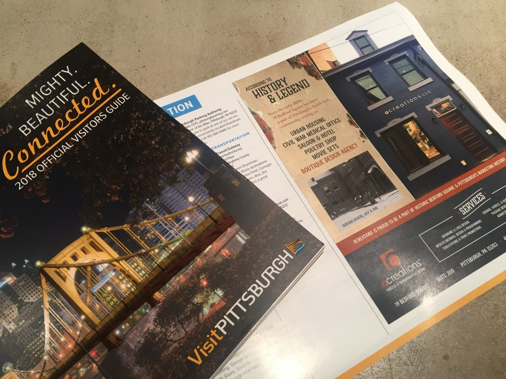 A preview of the OVG cover and our ocreations ad in the publication.
