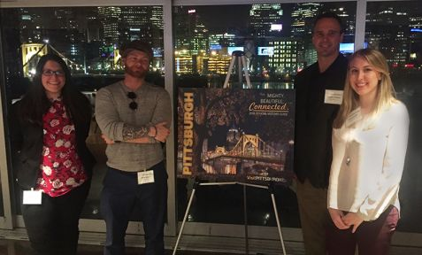 OCREATIONS ATTENDS VISIT PITTSBURGH'S 2018 OFFICIAL VISITORS GUIDE REVEAL EVENT