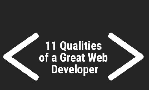 Qualities of a Great Web Developer