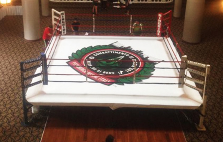 Boxing Ring Graphic