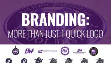BRANDING: MORE THAN JUST A QUICK LOGO